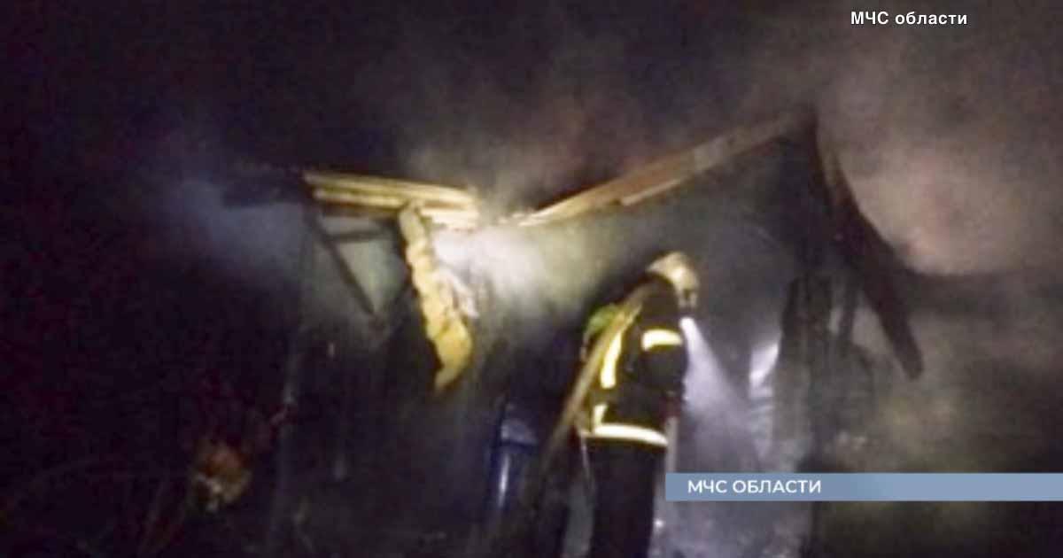 4 крупных пожара за выходные. 2 человека погибли, 2 пострадали