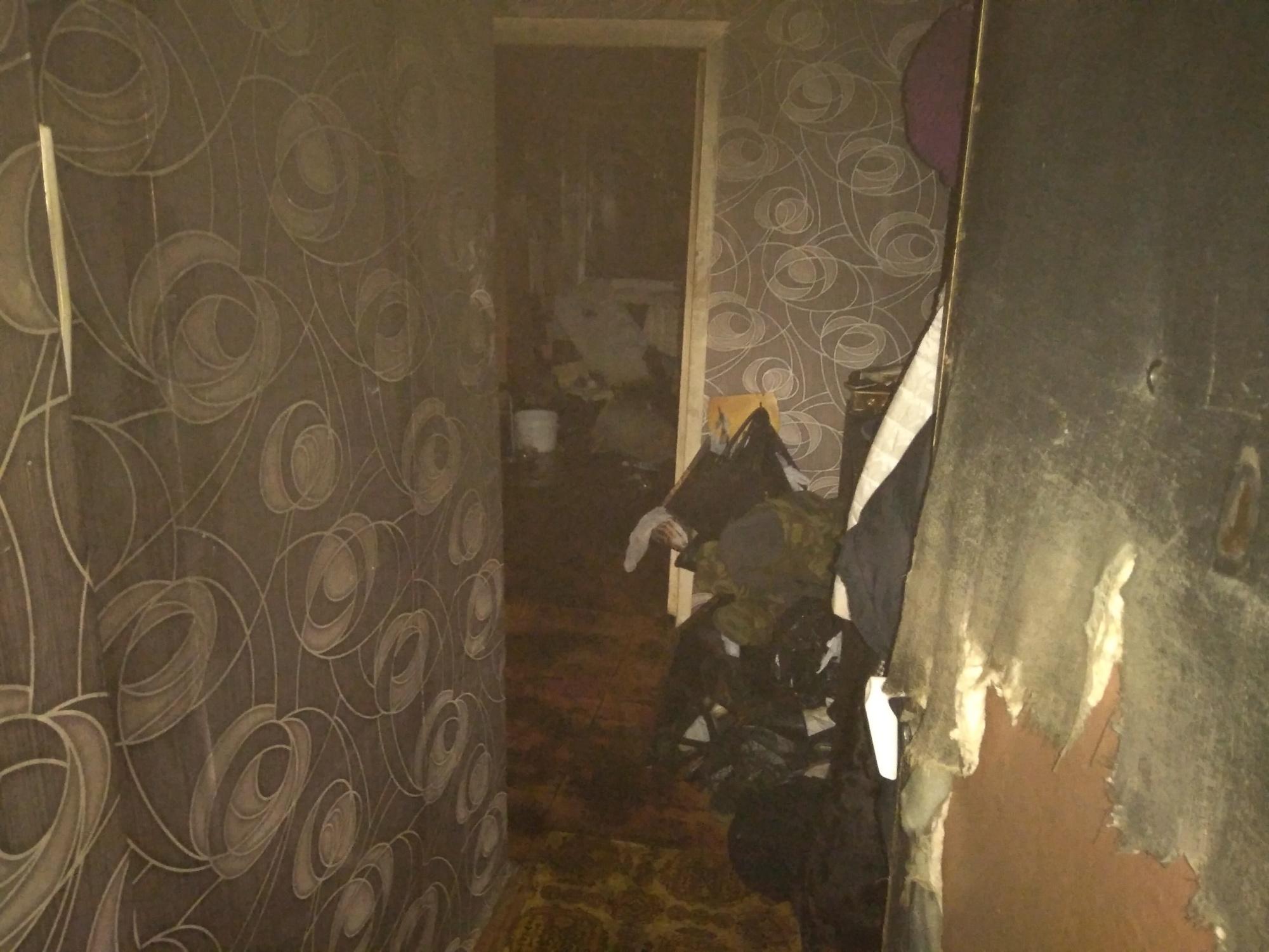 Во Владимире во время пожара в жилом доме на Комиссарова эвакуировали шесть человек